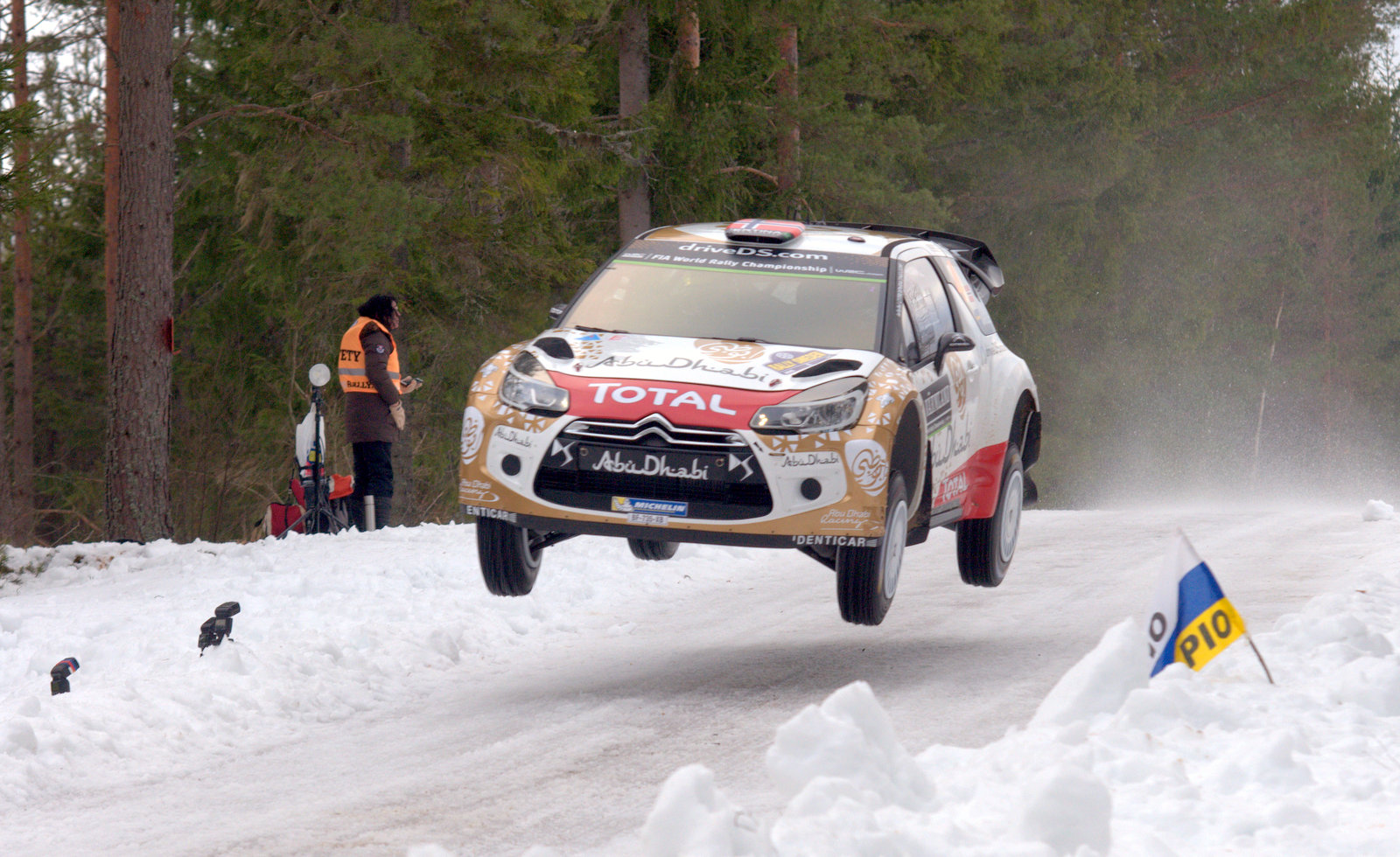 FOTOREPORT: Rally Sweden 2015