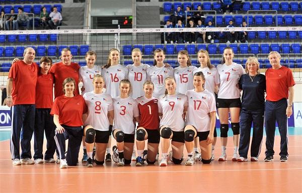 České kadetky skončily na Mistrovství Evropy ve skupině