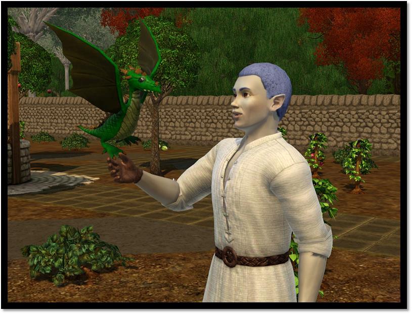 INFO: V novém dodatku The Sims 3 můžete objevovat údolí draků