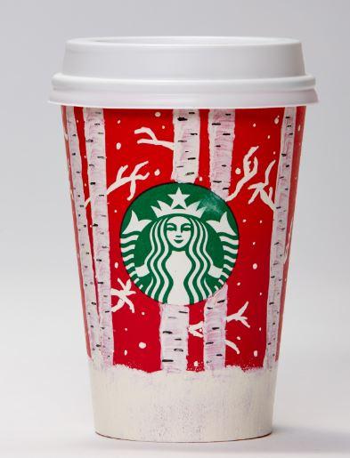 Červené kelímky Starbucks jsou tu opět s námi