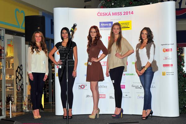 Castingu na Miss 2014 v Českých Budějovicích