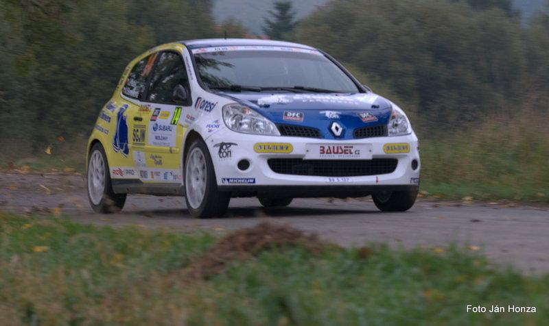 FOTOREPORT: Pech vyhrál pošesté v kariéře Rallye Příbram