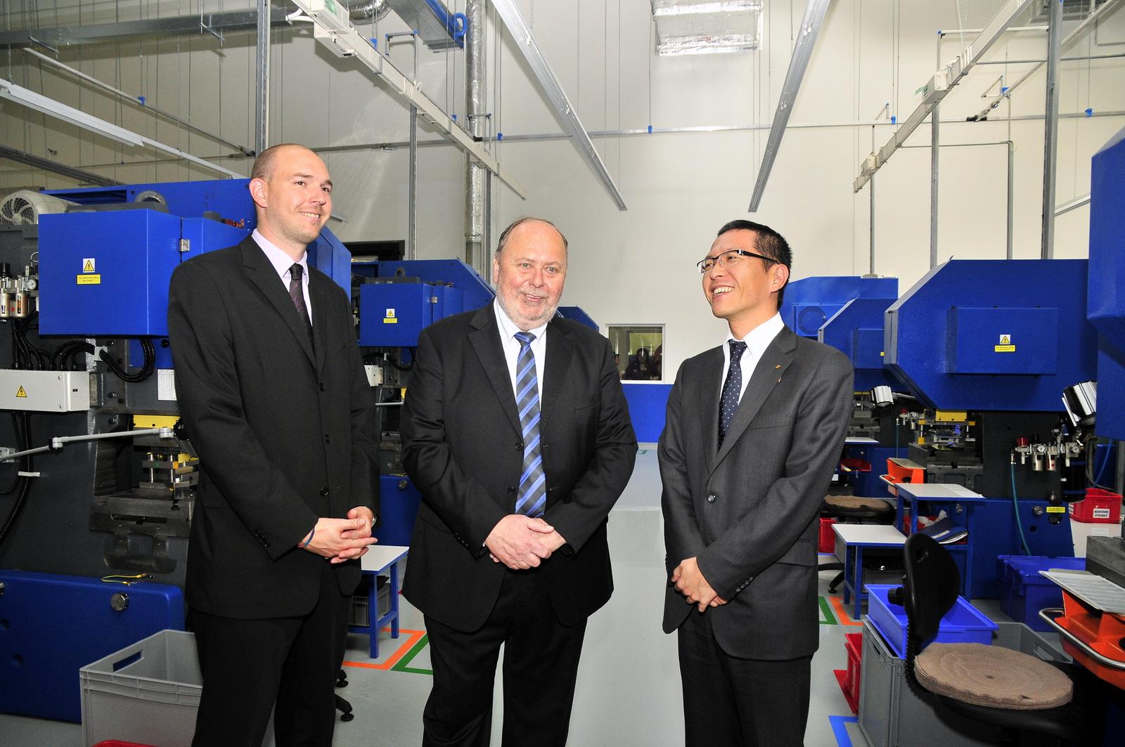 Čerstvě otevřené výrobní prostory BBH Tsuchiya v jihočeské metropoli nabídnou pracovní místa