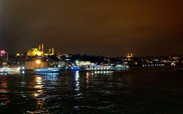 Silvestrovský klid v tureckém Istanbulu