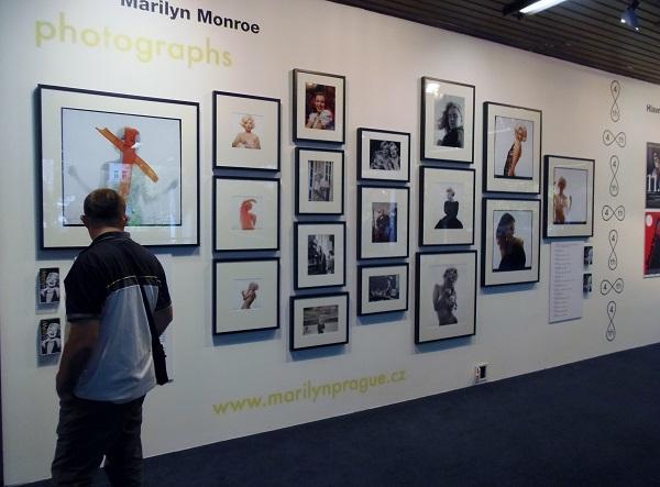 FOTOREPORT: Marilyn Monroe ve Varech na fotografiích