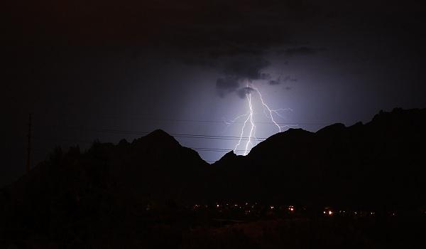 ČHMÚ vydalo výstrahu na silné bouřky po celém území ČR!
