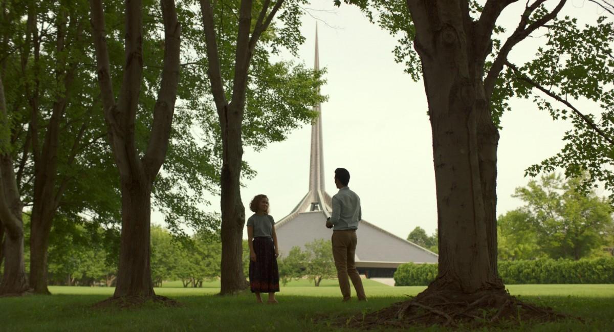 Tiché drama Columbus se odehrává na pozadí městské architektury