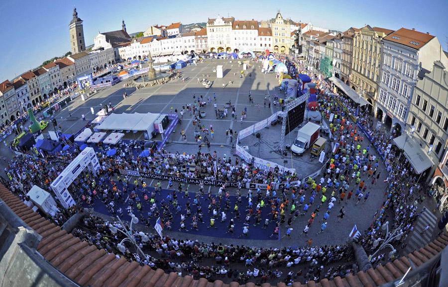Startuje 4. ročník Mattoni půlmaratonu České Budějovice. Favority jsou Keňané