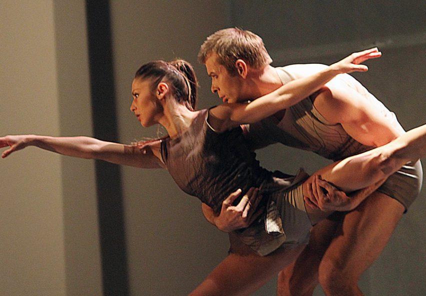 Za baletem Pas de troi stojí Attila Egerházi, Mario De Rose a Pavel Šporcl