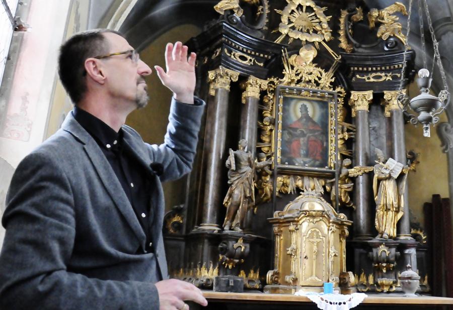 Gotický špitálek ze 16. století prochází stavební obnovou