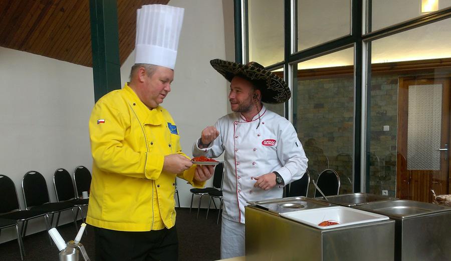 Ke specialitám světových kuchyní na Gastrofestu bude patřit i dušené maso z hroznýše královského