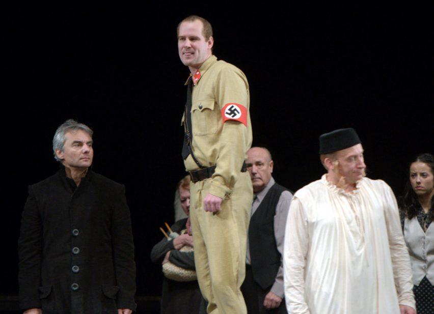 Činoherní premiéra v Jihočeském divadle: Židovský herec myslel srdcem